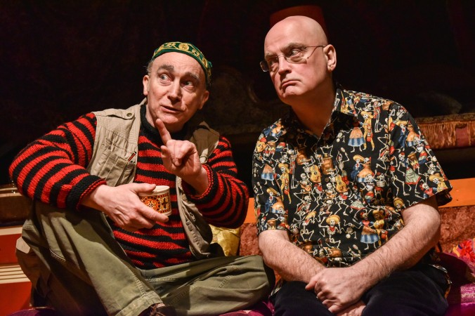 Ken, The Bunker - Jeremy Stockwell and Terry Johnson (courtesy of Robert Day)